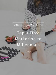 Top 3 Tips for Marketing to Millennial Couples